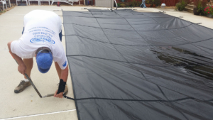 Pool Cover Install